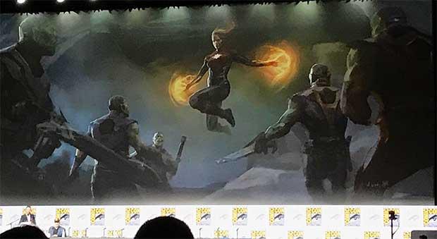 Captain Marvel concept