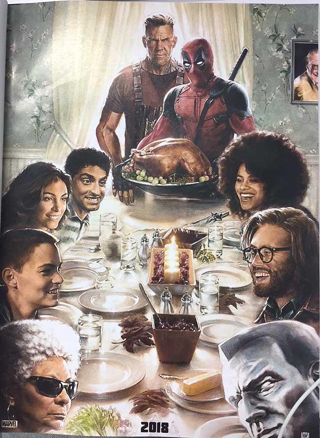 first deadpool 2 poster