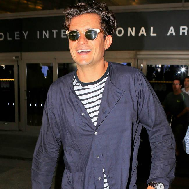 Orlando Bloom Goes Paddle Boarding, But Keeps His Shorts