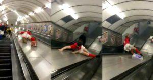escalator slide